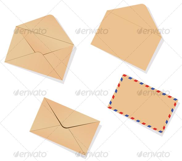 GraphicRiver Different envelopes 56223