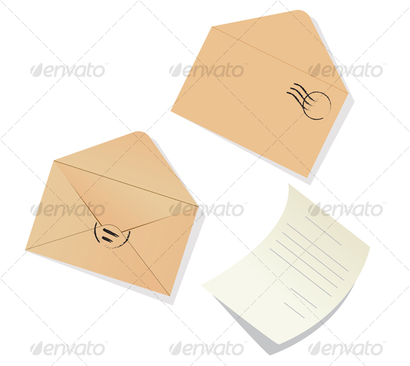 GraphicRiver Letter and envelopes 56224