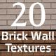 20 Brick Wall Textures