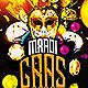 Mardi Gras Madness Flyer