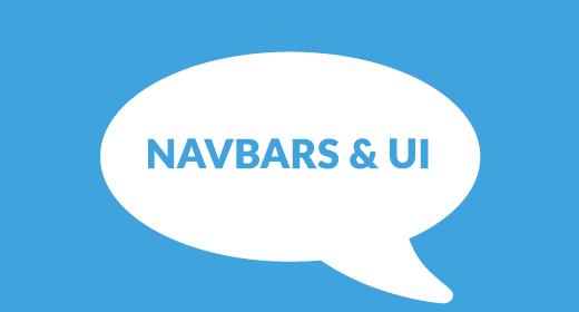 Navbars & UI Packs