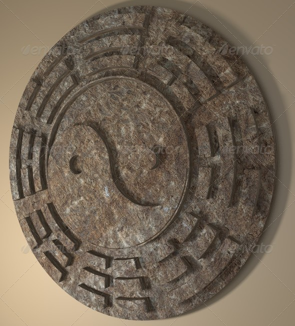 3DOcean Yin Yang Sign 3D 168763