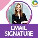 Email Siganture Template - 20 Designs