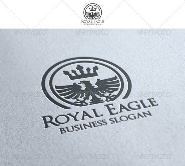 Royal Eagle - Crests Logo Templates