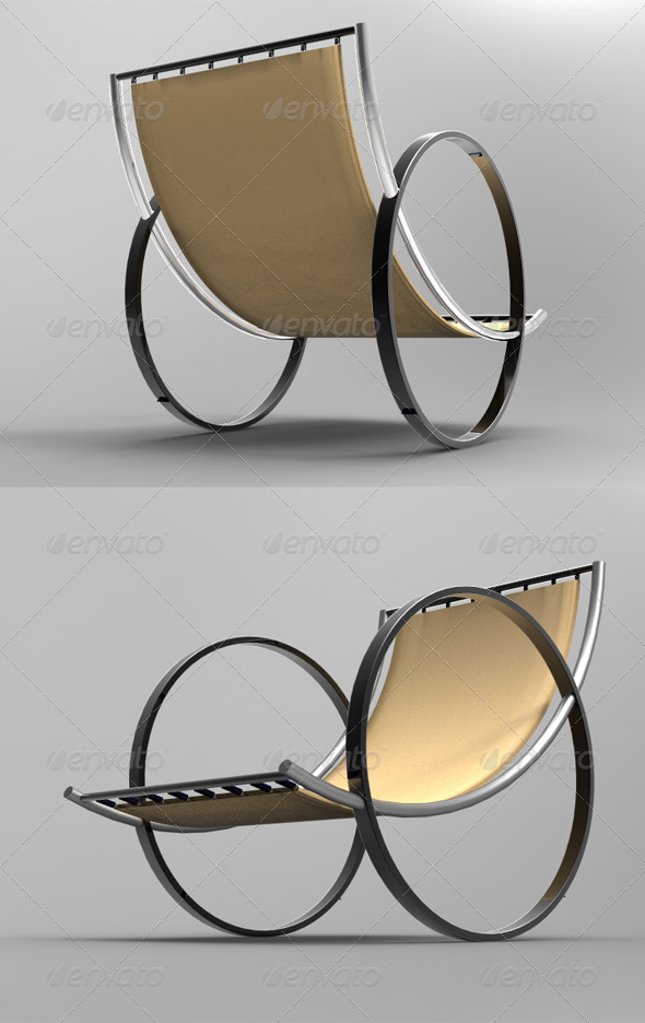 3DOcean Chair 3D Models -  Deco Objects 168837
