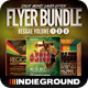 Reggae Flyer/Poster Bundle Vol. 1-3 - GraphicRiver Item for Sale