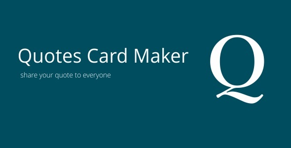 Quotes Card Maker 3.1