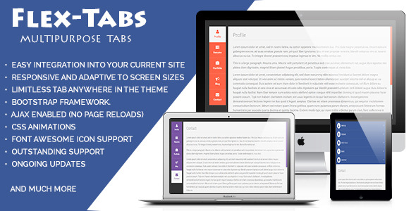 FlexTabs: Responsive Tabs to Accordion  (Navigation) Download