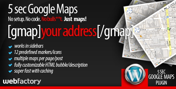 5sec Google Maps - CodeCanyon Item for Sale