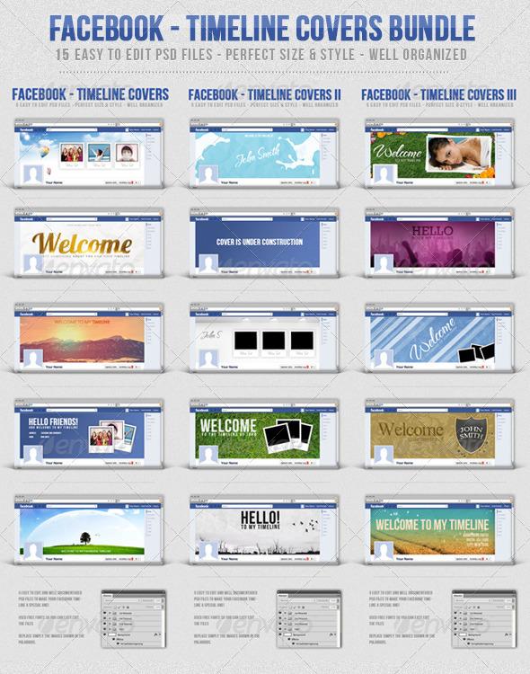 Facebook Timeline Covers Bundle