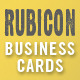 Rubicon Business Card Template Set - GraphicRiver Item for Sale