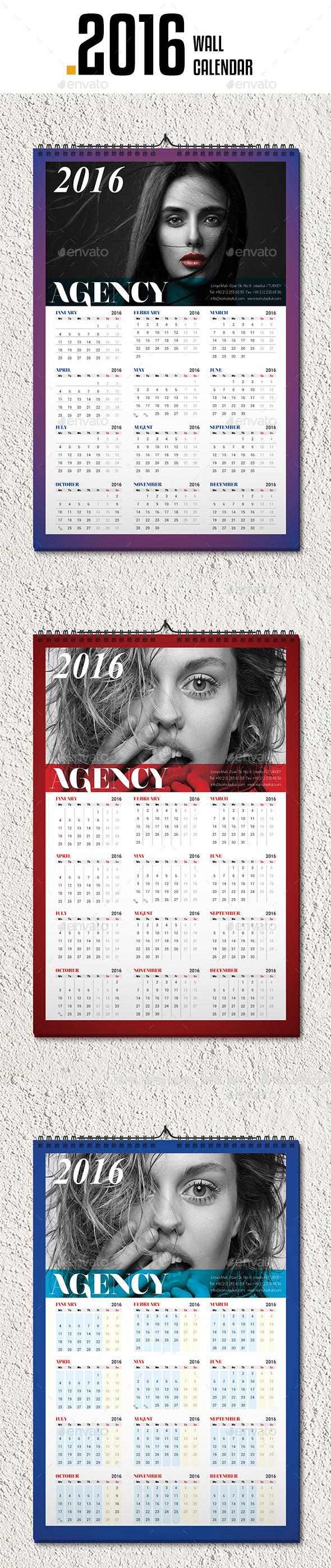 Wall Calendar 2016 v5