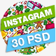 Christmas & New Year Instagram Banner