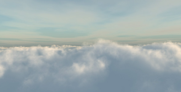 Flight through clouds