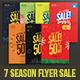 All Season Big Sale Flyer package