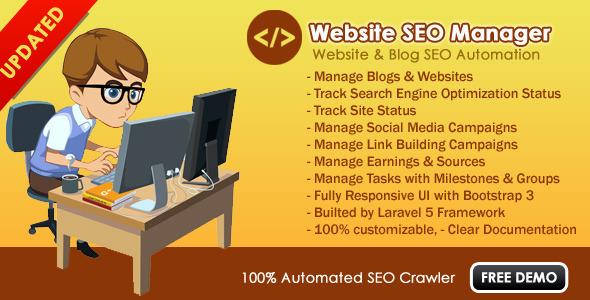 Download Website SEO Manager nulled download