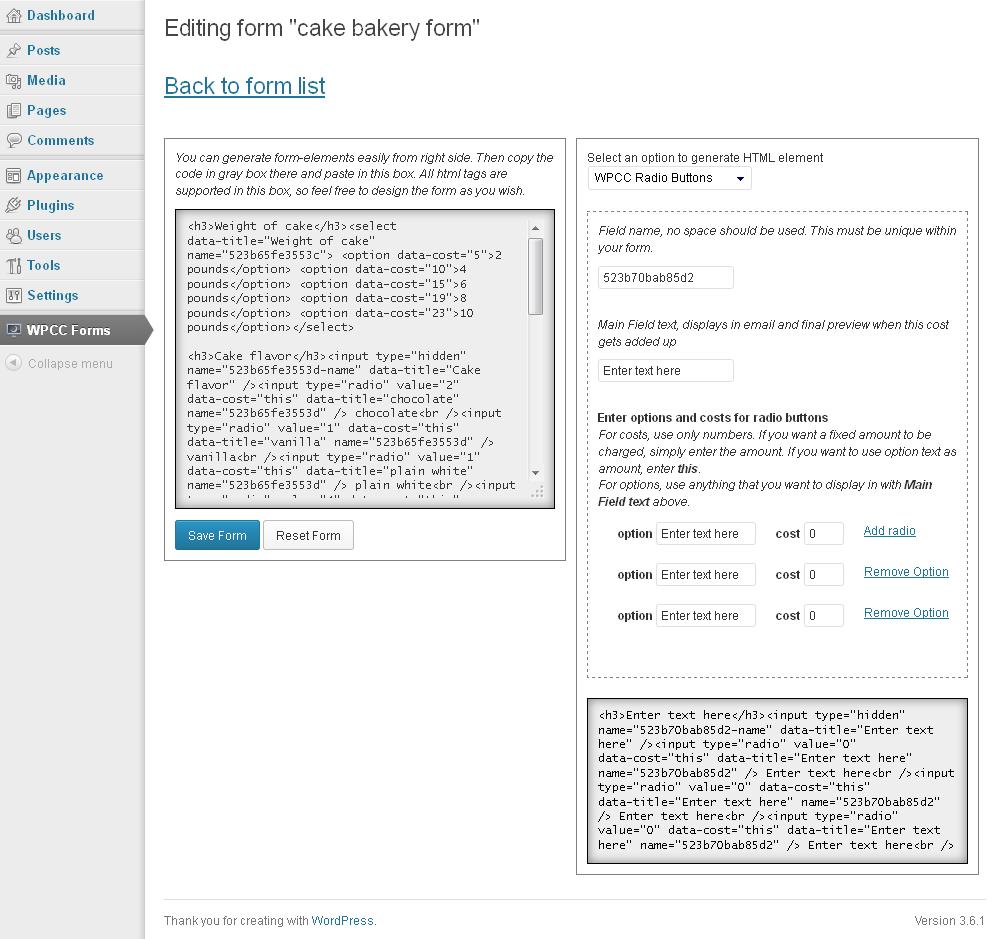 WPCC   WordPress Project Cost Calculator plugin   WPMeta
