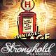 Vintage Gas Pump Event Flyer Template