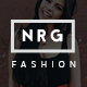 NRG Fashion - Model Agency One Page Beauty Theme - ThemeForest Item for Sale