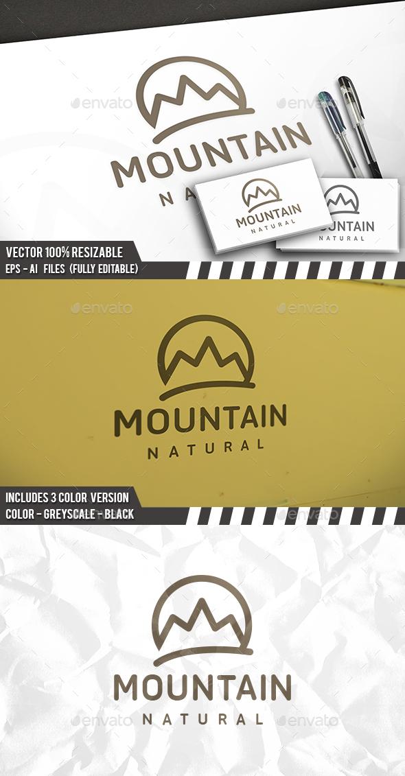 Mountain Simple Logo