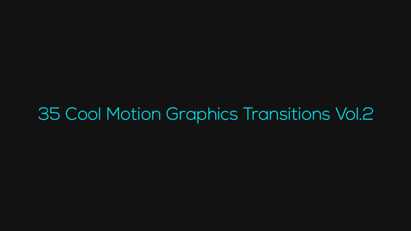 35 cool motion graphics transitions vol2 motion graphics videohive 14200325 for Cool motion graphics