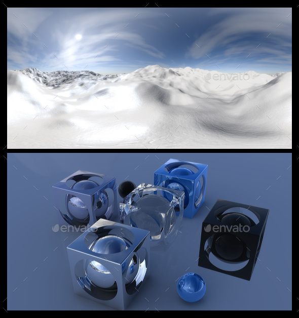 Snow - HDRI - 3DOcean Item for Sale