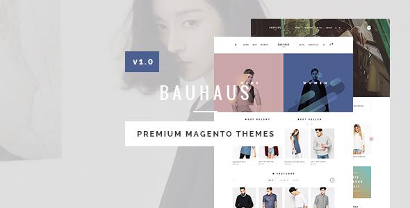 Bauhaus - Responsive Magento Theme