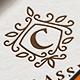Classic Letter Crest Logo
