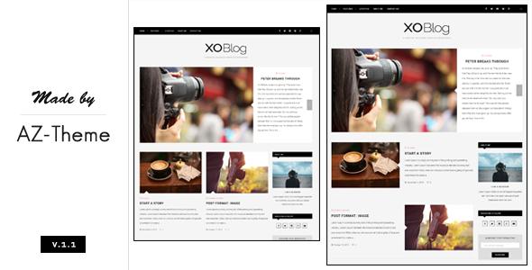 XO - A Personal Blogging Theme For WordPress