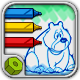 Html5 Coloring Book : Animals - HTML5 Game