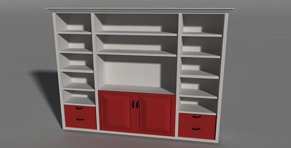 Cabinet 1_01 - 3DOcean Item for Sale
