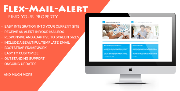 Flex-Mail-Alert - A Responsive Form To Find Properties