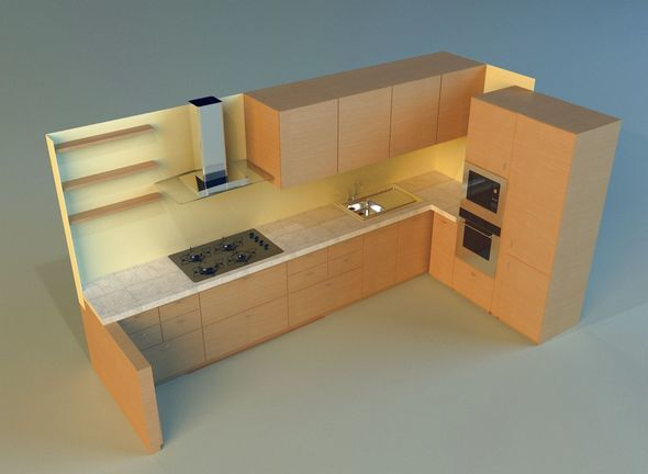 Kitchen 5 - 3DOcean Item for Sale