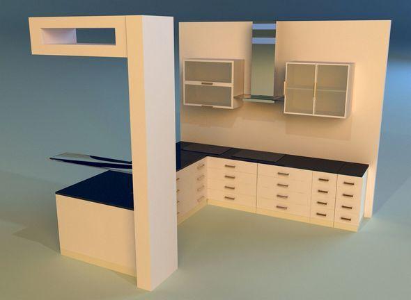 Kitchen 9 - 3DOcean Item for Sale