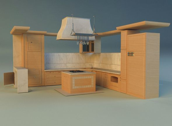 Kitchen 14 - 3DOcean Item for Sale