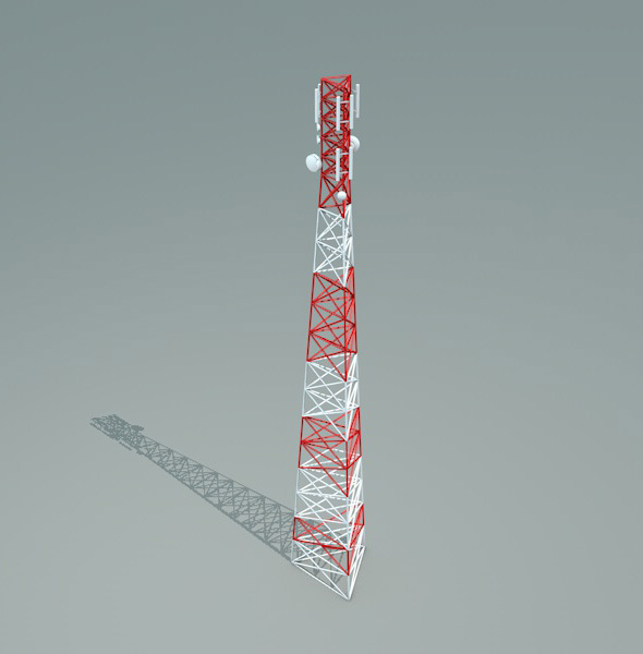 Radio Tower - 3DOcean Item for Sale