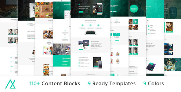 Nemo - Landing Page Pack with Builder