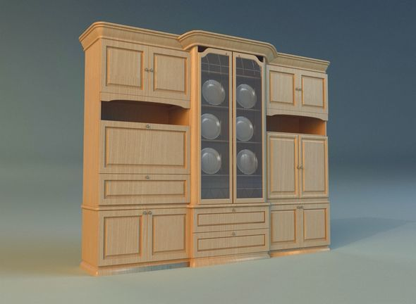 Sideboard 2 - 3DOcean Item for Sale
