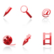Set of internet and media symbols - GraphicRiver Item for Sale