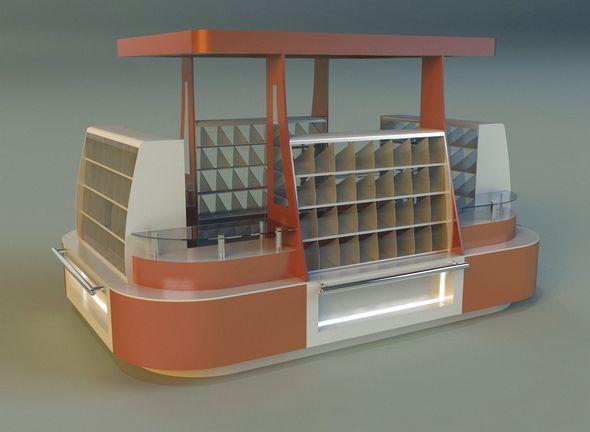 Trade pavilion 3 - 3DOcean Item for Sale