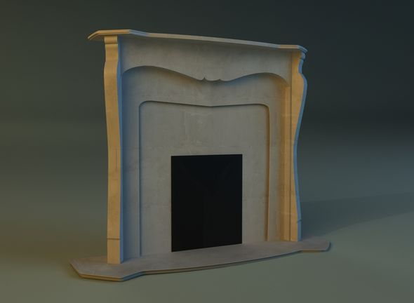 Fireplace 2 - 3DOcean Item for Sale
