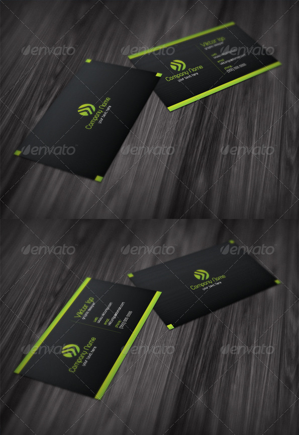 GraphicRiver Trend Business Card 1427631