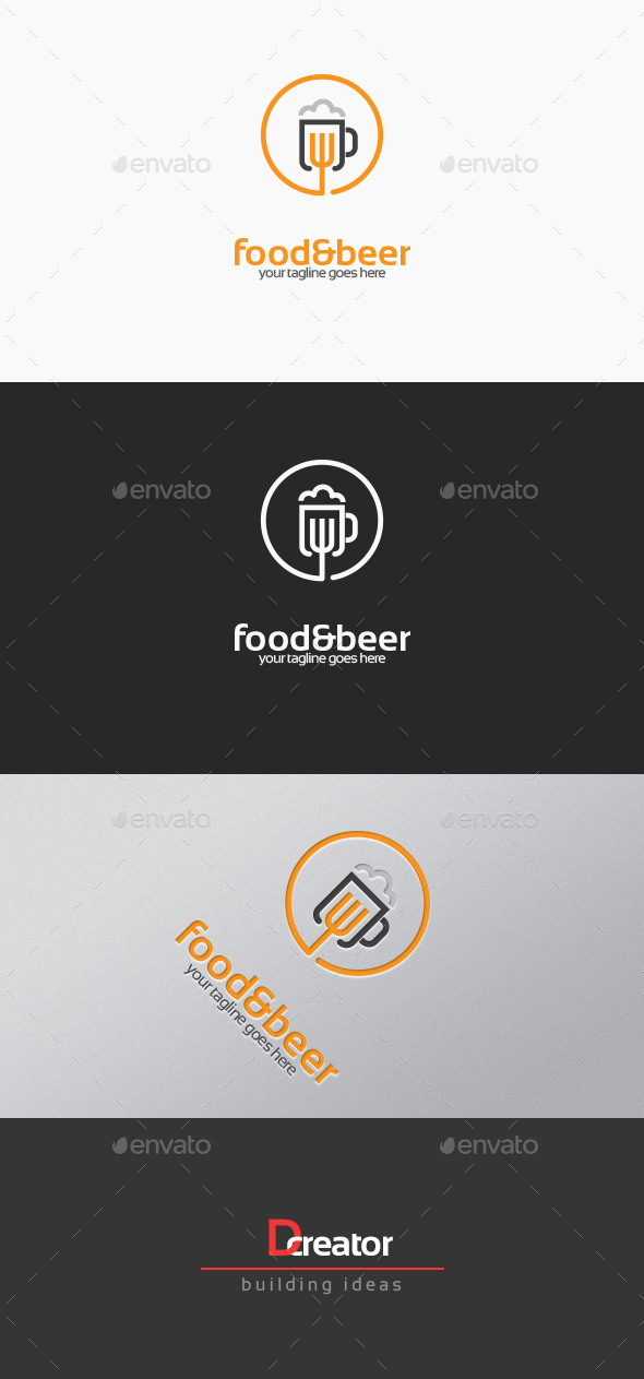 Food And Beer Logo