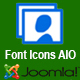 Font Icons AIO for Joomla