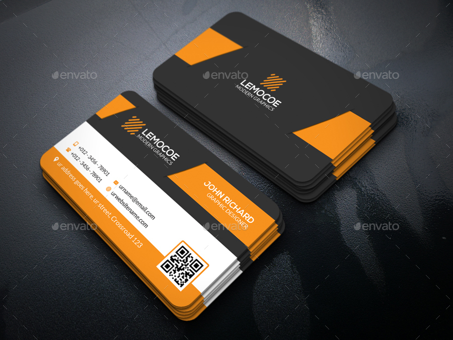 Professional Business Card by Zavad