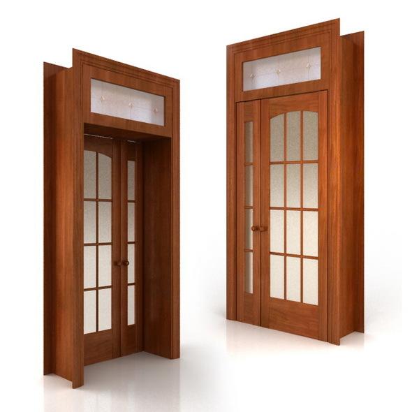 Door sesquialteral - 3DOcean Item for Sale