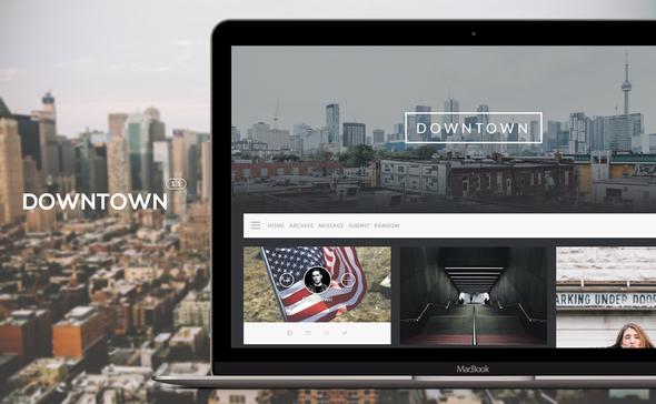 Downtown - Responsive Grid Theme