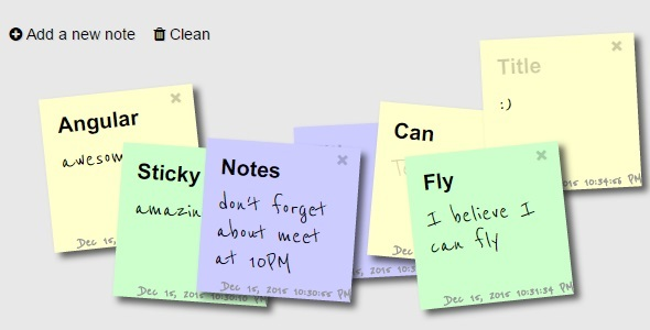 Sticky Notes (Miscellaneous) images