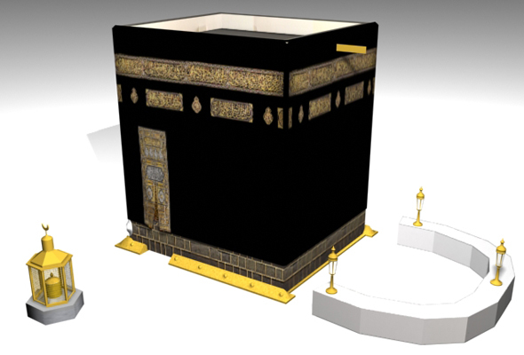 The Kaaba 3D Model - 3DOcean Item for Sale