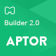 Aptor - HTML Email Template + Builder 2.0